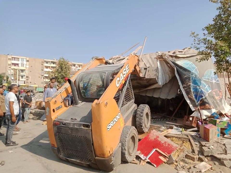 إزالة تعديات على أملاك الدولة بشرق مدينة نصر (5)