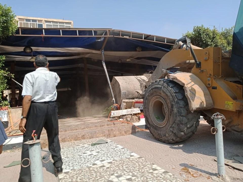 إزالة تعديات على أملاك الدولة بشرق مدينة نصر (7)