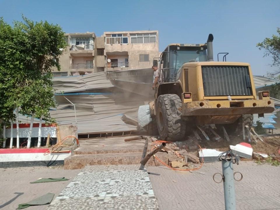 إزالة تعديات على أملاك الدولة بشرق مدينة نصر (4)