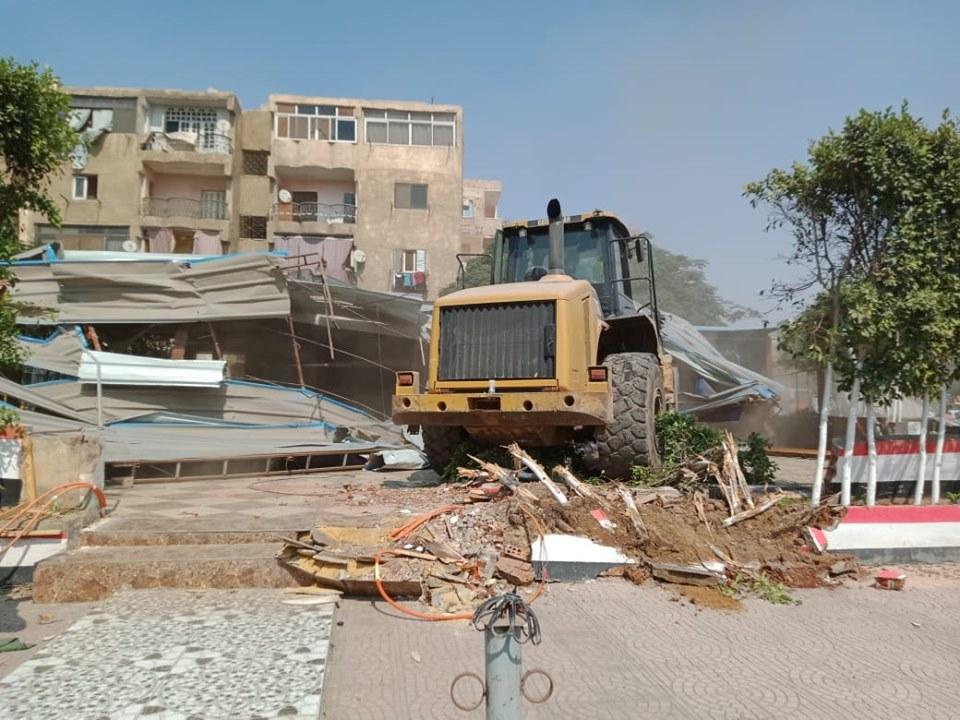 إزالة تعديات على أملاك الدولة بشرق مدينة نصر (8)