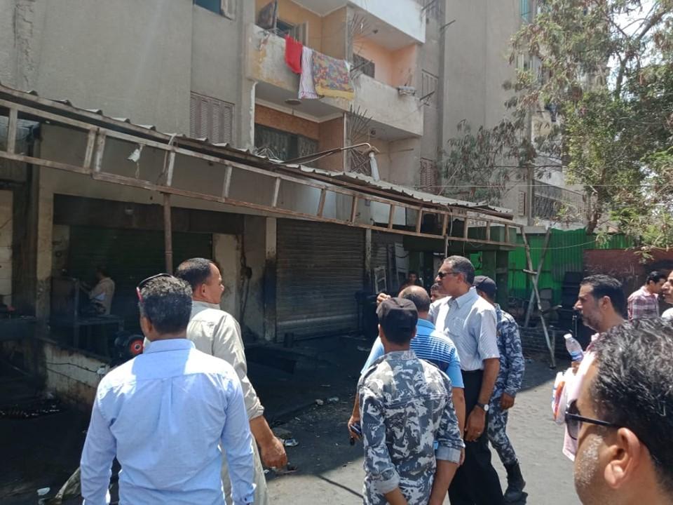 إزالة تعديات على أملاك الدولة بشرق مدينة نصر (6)