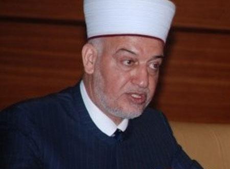 الشيخ يوسف سلامة خطيب المسجد الاقصى المبارك