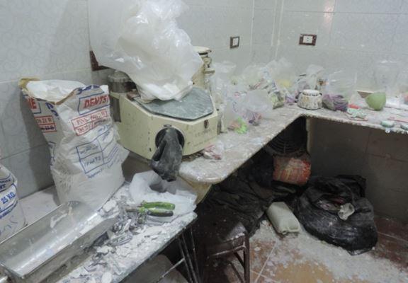 اخبار اليوم – صور.. ضبط معمل غير مرخص بالبحيرة لتصنيع الأسنان من مواد مجهولة