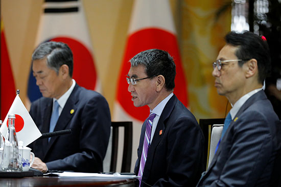وزير الخارجية اليابانى