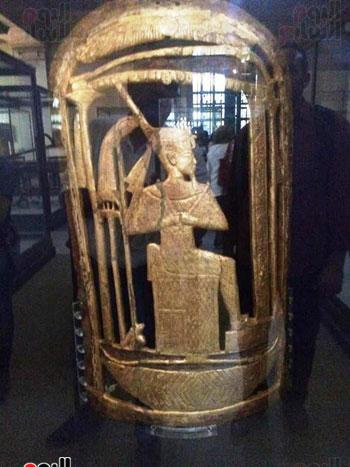 دروع الملك توت عنخ آمون (2)