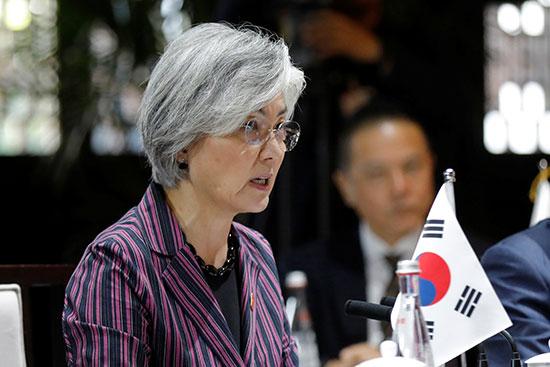 وزير الخارجية الكورية الجنوبية