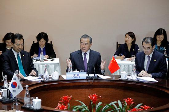 كلمة وزير الخارجية الصينى