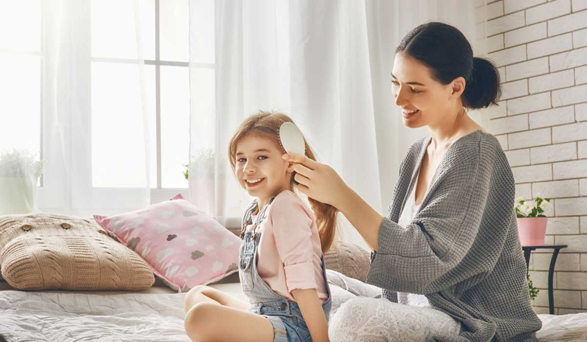 نصائح لتنعيم الشعر للأطفال