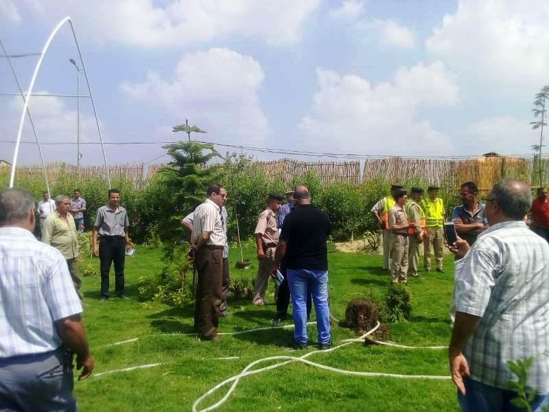 إزالة التعديات على الأراضى الزراعية بالمنوفية (3)