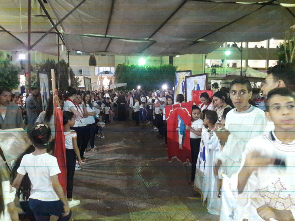 مطارنة الكاثوليك يحتفلون بدورة العذراء بدير درنكة في نهاية الصوم (1)