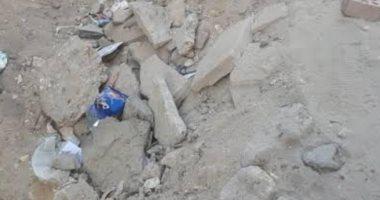 تكسير بشارع بمدينة نصر