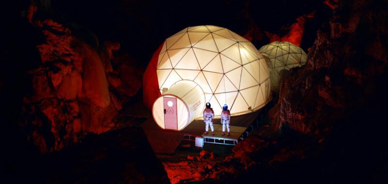 رحلة سياحية الى اسبانيا الى المريخ