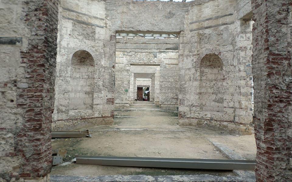 المتحف اليونانى الرومانى خلال أعمال تطويره (2)