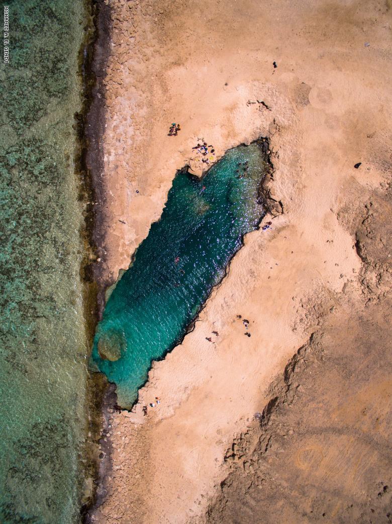شاطئ النيزك بمرسى علم (1)