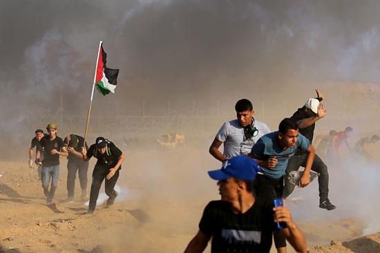 عنف الاحتلال ضد المسيرات السلمية