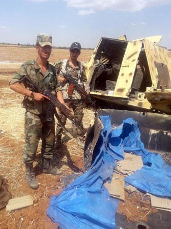 قوات الجيش السورى فى إدلب