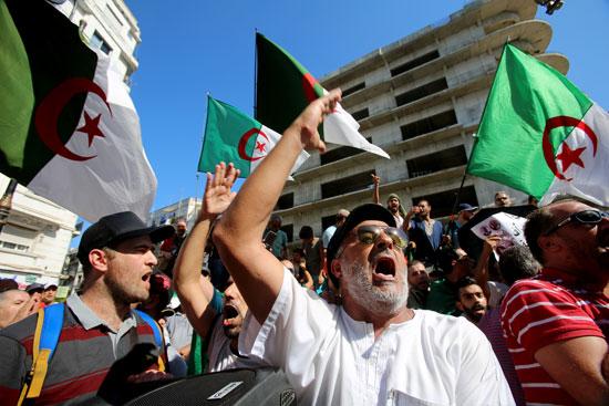 مظاهرات غاضبة فى الجزائر