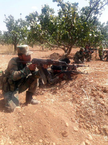 قوات الجيش السورى