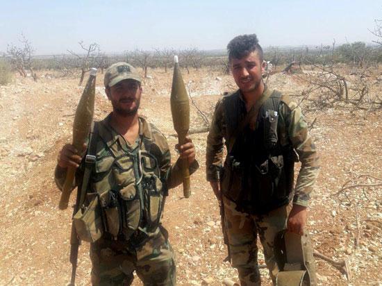 الجيش السورى فى خان شيخون