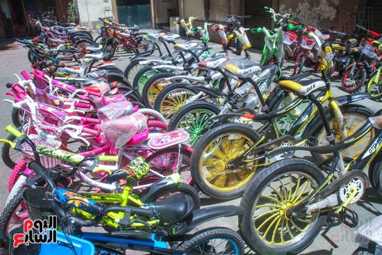 الدراجات الحديثة