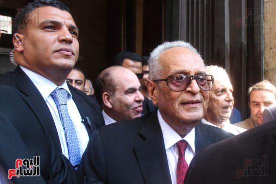 قيادات وأعضاء حزب الوفد من مختلف المحافظات فى زيارة لضريح سعد زغلول (4)