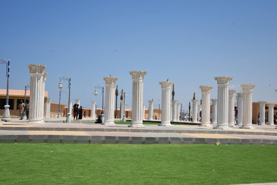 محافظة مطروح تحيي ذكرى ليلى مراد بتمثال برونزي   (3)