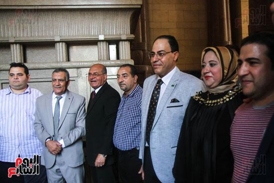 قيادات وأعضاء حزب الوفد من مختلف المحافظات فى زيارة لضريح سعد زغلول (16)