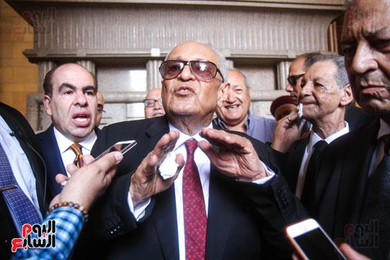 قيادات وأعضاء حزب الوفد من مختلف المحافظات فى زيارة لضريح سعد زغلول (2)