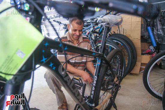 صيانة الدراجات قبل البيع