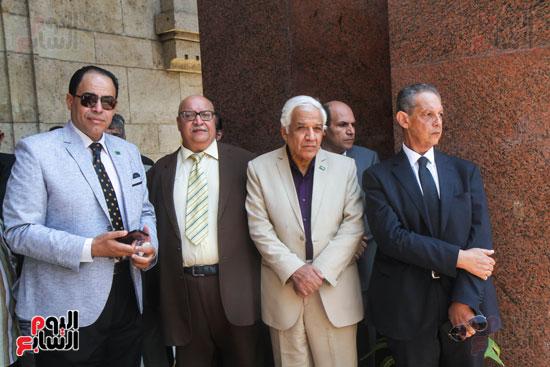 قيادات وأعضاء حزب الوفد من مختلف المحافظات فى زيارة لضريح سعد زغلول (17)