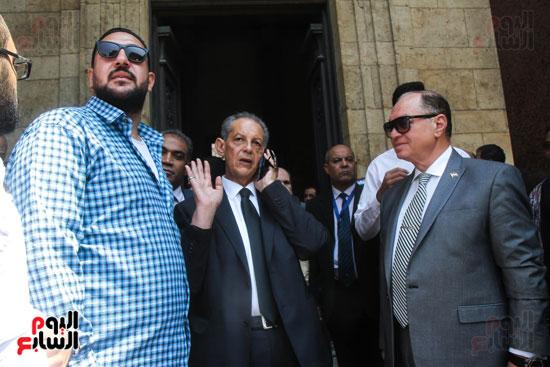 قيادات وأعضاء حزب الوفد من مختلف المحافظات فى زيارة لضريح سعد زغلول (10)