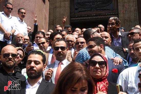قيادات وأعضاء حزب الوفد من مختلف المحافظات فى زيارة لضريح سعد زغلول (6)