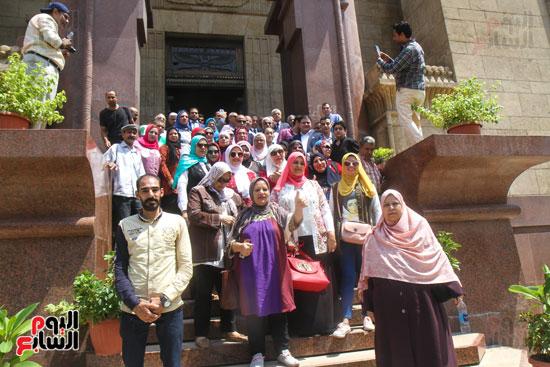 قيادات وأعضاء حزب الوفد من مختلف المحافظات فى زيارة لضريح سعد زغلول (20)