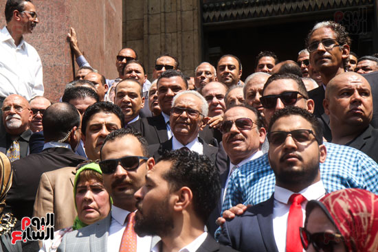 قيادات وأعضاء حزب الوفد من مختلف المحافظات فى زيارة لضريح سعد زغلول (8)