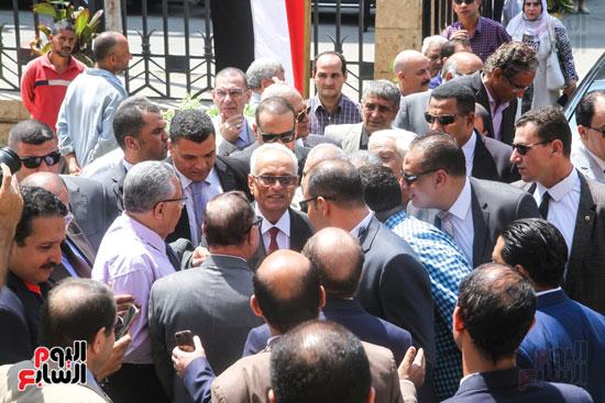 قيادات وأعضاء حزب الوفد من مختلف المحافظات فى زيارة لضريح سعد زغلول (27)