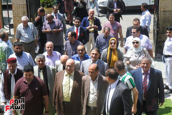 قيادات وأعضاء حزب الوفد من مختلف المحافظات فى زيارة لضريح سعد زغلول (14)
