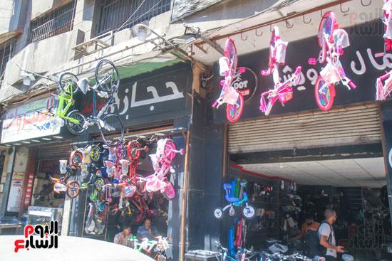 محلات بيع الدراجات