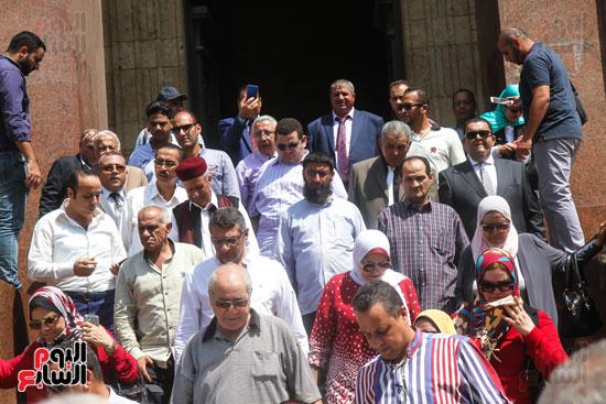قيادات وأعضاء حزب الوفد من مختلف المحافظات فى زيارة لضريح سعد زغلول (9)