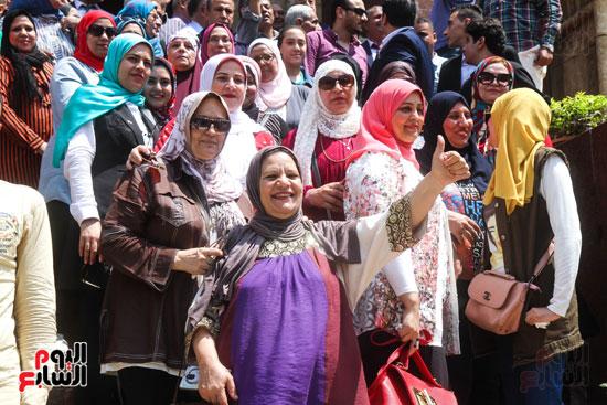 قيادات وأعضاء حزب الوفد من مختلف المحافظات فى زيارة لضريح سعد زغلول (22)