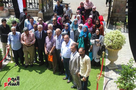 قيادات وأعضاء حزب الوفد من مختلف المحافظات فى زيارة لضريح سعد زغلول (18)