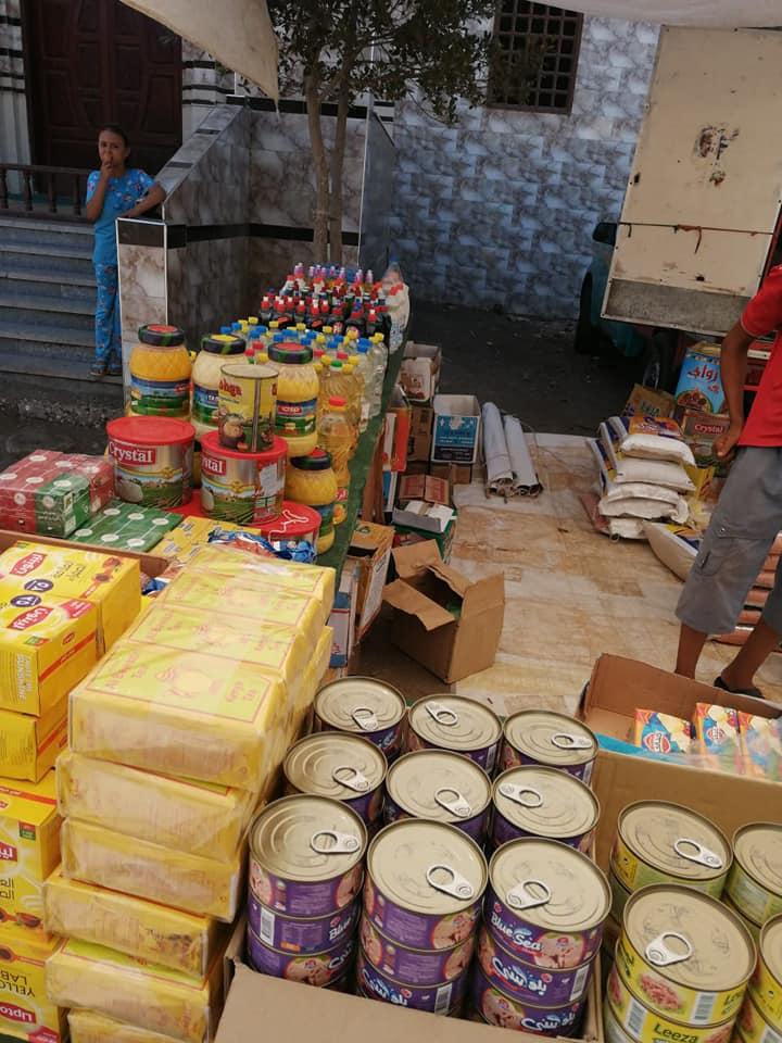قافلة للسلع الغذائية بقرية برياض كفر الشيخ  (1)
