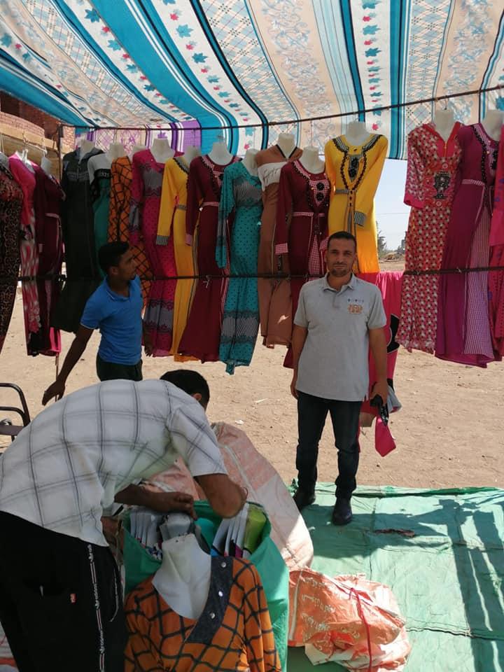 قافلة للسلع الغذائية بقرية برياض كفر الشيخ  (4)