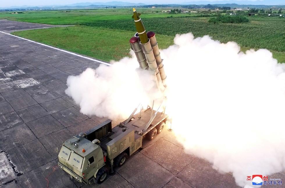 منصة اطلاق الصواريخ