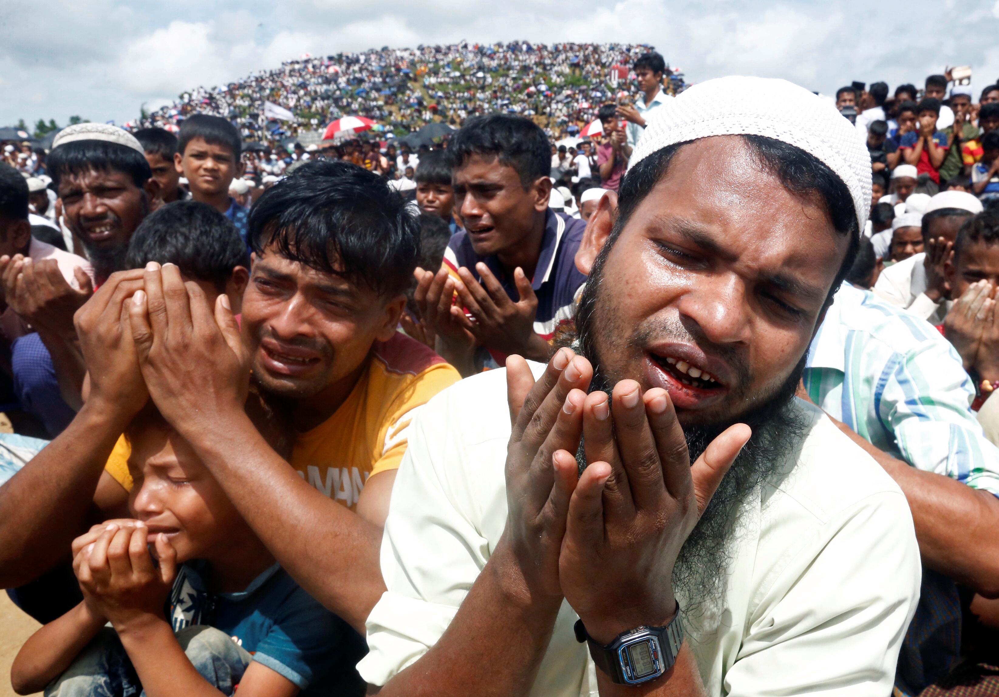 الدعاء هو سلاح مسلمى الروهينجا