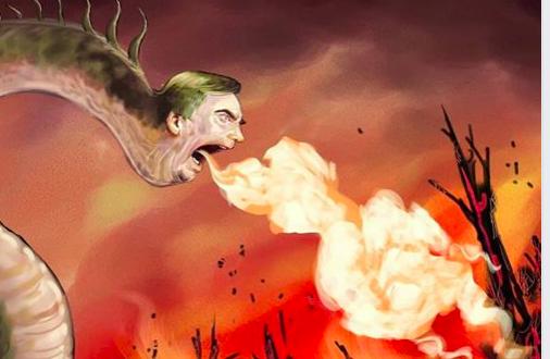 بولسونارو يحرق الامازون