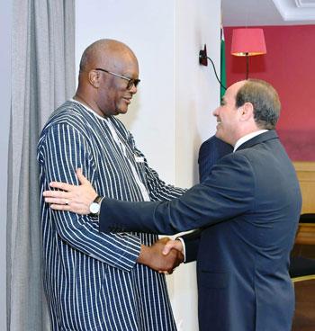 السيسى يستضيف رؤساء رواندا والسنغال وجنوب افريقيا (7)