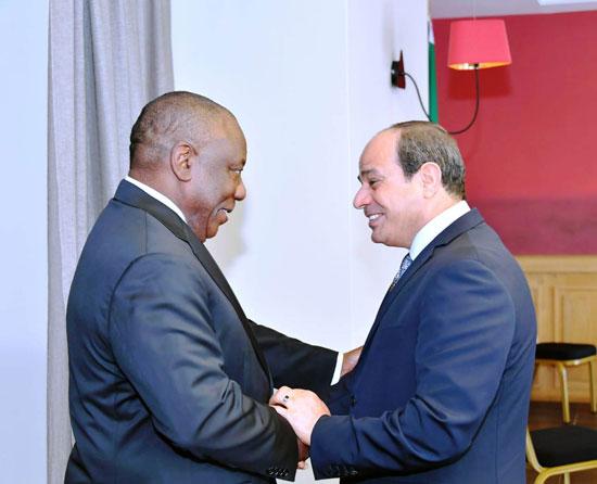 السيسى يستضيف رؤساء رواندا والسنغال وجنوب افريقيا (1)