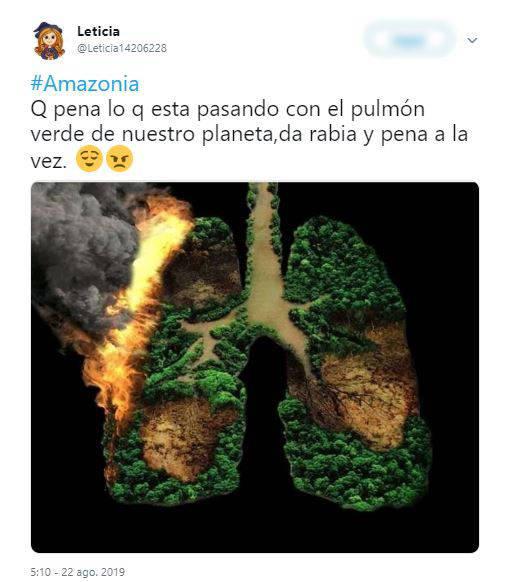 رئة الكوكب تحترق