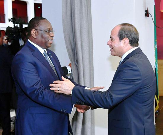 السيسى يستضيف رؤساء رواندا والسنغال وجنوب افريقيا (6)