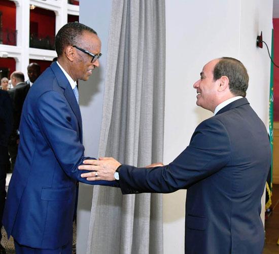 السيسى يستضيف رؤساء رواندا والسنغال وجنوب افريقيا (3)